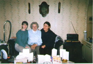 My mother, grandmother and myself. Taken at Christmas before the 'big escape'.