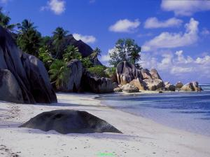 Seychelles Stunning Beach